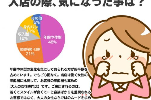 円グラフ。福原ソープ 神戸妻への入店時に何を気にされていましたか?